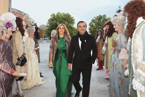 Carole and Carlos Ghosn Wedding
