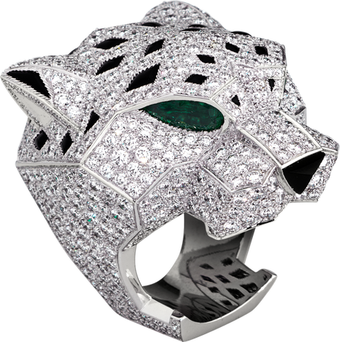 18104a54cedae Jay-Z Wore Cartier's Panther Ring to the Grammys - Best Jewelry at ...