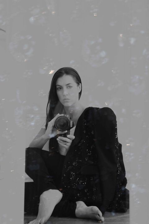 White, Black, Photograph, Snapshot, Standing, Black-and-white, Sitting, Monochrome, Photography, Monochrome photography,