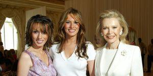 Ines Knauss, Melania Trump, And Audrey Gruss