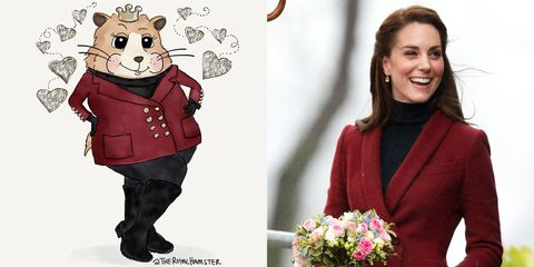 Kate Middleton and the Royal Hamster