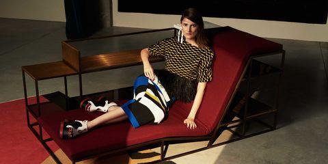 Furniture, Leg, Couch, Fashion, Footwear, Room, Chair, Sitting, Shoe, Screenshot,