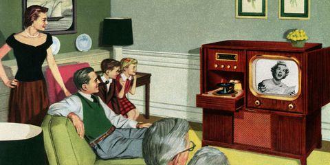 Cartoon, Room, Furniture, Fun, Illustration, Art, Leisure, Interior design, House,