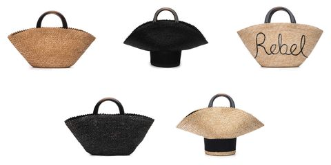 Product, Bag, Style, Fashion, Luggage and bags, Home accessories, Shoulder bag, Beige, Wicker, Basket,