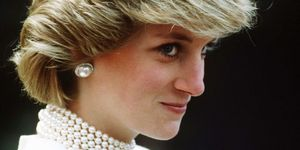 Diana, Princess of Wales glances into the camera during a tour of Canada on June 30 1983 in Canada (Photo by Anwar Hussein/Getty Images)