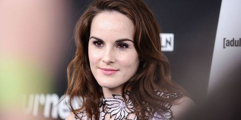 Michelle Dockery attends the 2016 Turner Upfront at Nick & Stef's Steakhouse on May 18, 2016 in New York, New York.  (Photo by Daniel Zuchnik/WireImage)