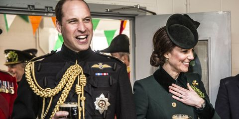 Prince William Kate Middleton Drinking Guinness