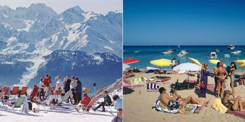 Apres Ski and the Beach