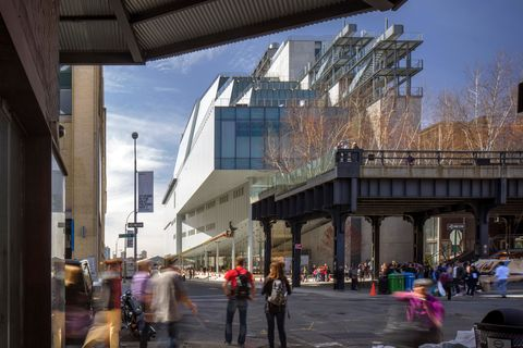 Whitney Museum of American Art, New York, United States. Architect: Renzo Piano Building Workshop, 2015.