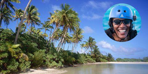 Barack Obama Tahiti