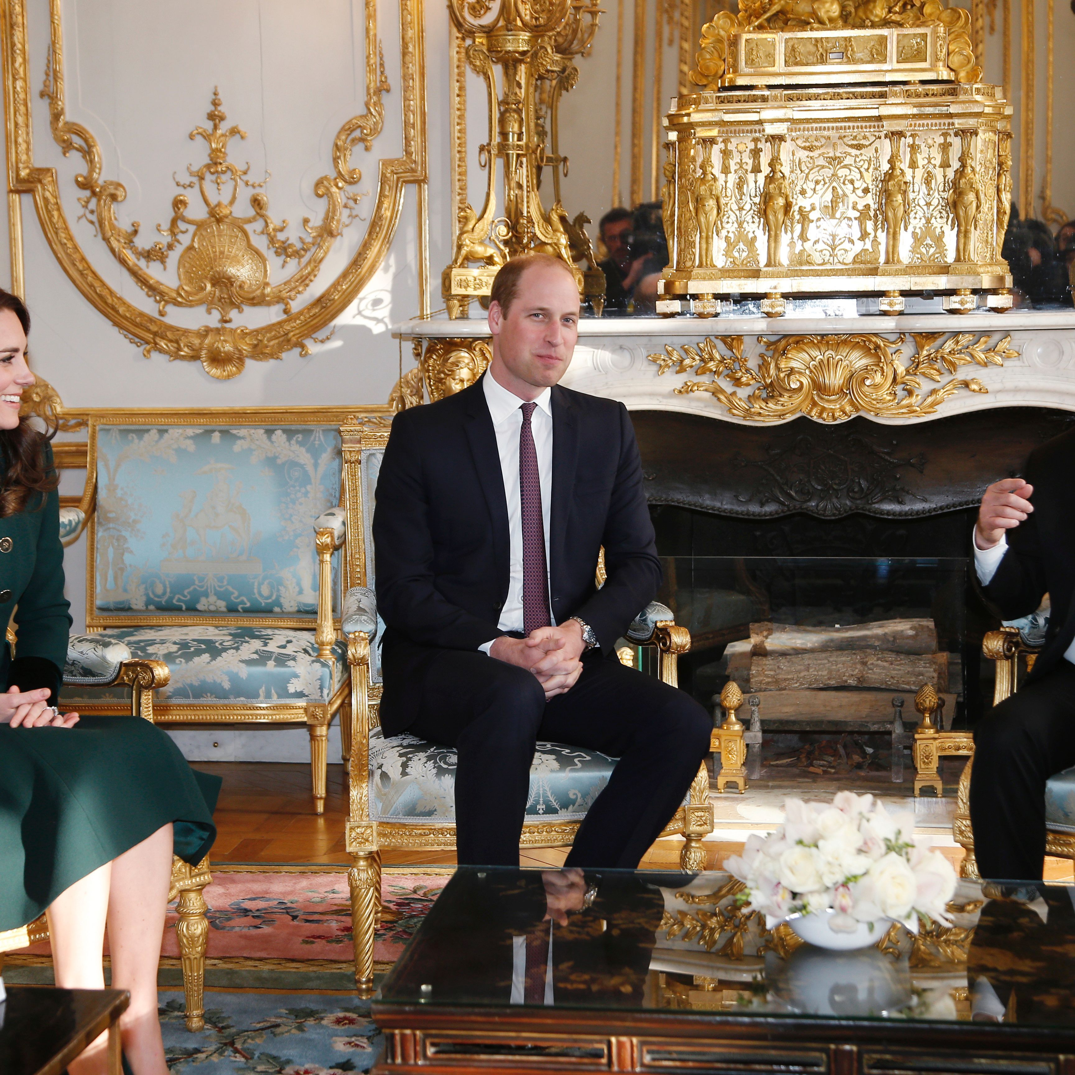 Prince William and the Duchess of Cambridge visit Paris for an official state visit