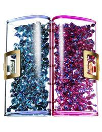Roger Vivier limited-edition No Secret Lucite clutches ($3,325 each).