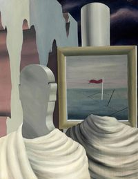 """Surrealism is perhaps the last great 'ism' of the 20th century that has yet to reach its full commercial potential,"" Simon Shaw says. ""It's historically been undervalued in relation to other movements, such as Cubism and Expressionism. As a result there remains quite a number of high-quality Surrealist works in private hands that are available to come to market.""Conor Jordan agrees, adding that the market's new interest in 1920s- and '30s-era pictures by the likes of Magritte and Dalí (and, according to Shaw, those by somewhat lesser-known practitioners such as Yves Tanguy and Paul Delvaux) likely stems from prevailing preoccupations found in contemporary art today. ""We've become so used to seeing the artist's psychology played out in art,"" Jordan says. ""I think that the whole inward-looking nature of Surrealism, which used to make it a hermetic and abstruse corner of the marketplace, has now made it more mainstream. Today it is seen more directly as a precursor of late-20th-century art.""This past February Sotheby's London set a world record for both Dalí and for a Surrealist painting sold at auction with the sale of Portrait de Paul Éluard, 1929, for $21.7 million, but drawings, prints, and less iconic paintings by the artist can still be had for relatively reasonable prices. The firm also has high hopes for Magritte's Le chevalier du couchant, a 1926 painting that's expected to bring between $4 million and $6 million at the Sotheby's New York Impressionist and Modern art evening sale on November 2. The trend even has star power behind it as well: Earlier this year Leonardo DiCaprio paid $1.4 million for Chevaliers en parade, an excellent example of Dalí's work, at Christie's.Le chevalier du couchant, 1926, by René Magritte. Estimated to fetch $4–$6 million at Sotheby's Nov. 2 auction."