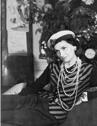 Pearls are as closely associated with Coco Chanel as the camellia.
