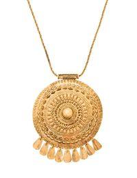 Aurélie Bidermann necklace ($870), Neiman Marcus, 800-365-7989.
