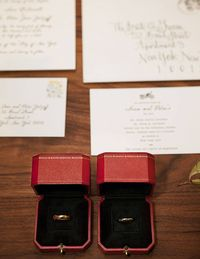 Cartier wedding bands.