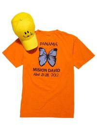 A shirt and hat from the Operation Smile mission.