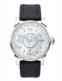Today brings us Montblanc's TimeWalker Hemispheres watch, for those whose footprints can't be found in several continents.$4,900, Montblanc.