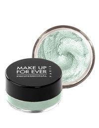 The French cosmetics brand's aqua range set a new standard for waterproof makeup since its debut seven years ago. The claim—you can swim in them and they won't slide, smear, or run—has been tested by synchronized swimmers, who emerged from the pool with eyeliner intact. This seafoam green shade adds a sheer shimmer to lids.$23&#x3B; makeupforever.com