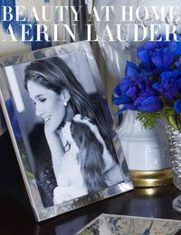 In her first book, Beauty at Home, (Potter Style, $60) the style icon Aerin Lauder welcomes the reader into her Manhattan apartment, her Hamptons house, and her Madison Avenue office. The photographs by Simon Upton illustrate what living gracefully means today, from dressing a dinner table to creating a bedroom sanctuary. Describing her choices in decoration and offering tips for entertaining, Aerin shows her abiding love of her family and friends, shares her most cherished memories, and offers inspiration to find beauty in everday life.