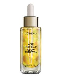 """I've always been afraid to use oils for fear of breakouts, but I was convinced to give L'Oreal's Age Perfect Glow Renewal a try. I dab the facial oil on right before I go to bed, and again after I wake up—it's super light and keeps my face soft and moisturized even in harsh winter winds. My trick in the mornings is to let it settle in for a few minutes before layering on sunscreen or makeup."" -Stephanie Wu, Senior Associate Editor"