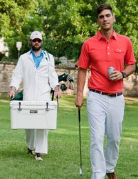 """<p>An Austin-based company founded by Billy Nachman and Hobson Brown, two former New York City prep school boys, Criquet aims to inject golf clothing with a bit of preppy handbook. Their motto is """"Country club tested, farmer's market approved."""" Nachman explains, """"We took the classic golf shirt and modified the cut and material, creating a shirt that works as well at the 19th hole as it does on the 18th."""" The removable collar stays keep the collars crisp and extends the life of the shirt. The fit, while modern, is still realistic for all of the former high school and college athletes who may not get to the gym as much as they'd like. Made from 100 percent certified organic cotton, these shirts are designed and built to last, both through many laundry cycles and generations of families.</p>"""