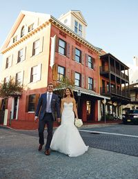 """When: November 16, 2013Reception: Rosemary Beach, FloridaAbout the bride: Beth is a PR and event planner in Palm Beach. She also has a lifestyle website with her sister called Palm Beach Lately. About the groom: Lawson is a professional racecar driver.Wedding Gown: Jim HjelmBridesmaid Dresses: J.CrewInvitations: Palm Beach PartiesFirst Dance song: """"You Are The Best Thing"""" Ray LaMontagnePhotographer: Paul Johnson PhotographyFlowers: Events by Noveau Flowers"""