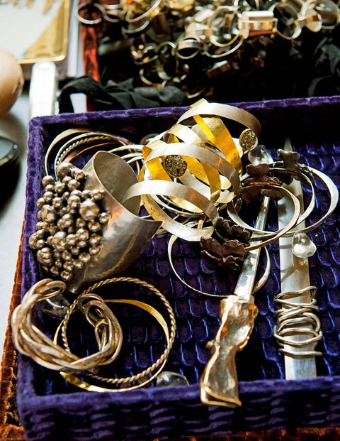 Pieces from the <strong>Osanna Visconti</strong> jewelry line.