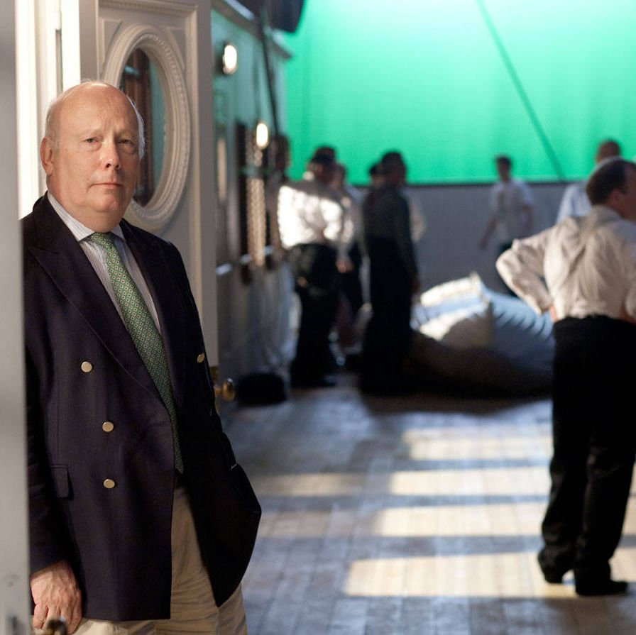 Julian Fellowes on the impressive two-story set that was built for the filming of his miniseries about the ship.