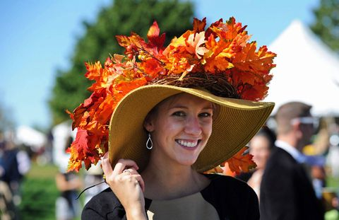 Human, Hat, Leaf, Happy, Facial expression, People in nature, Summer, Fashion accessory, Headgear, Petal,