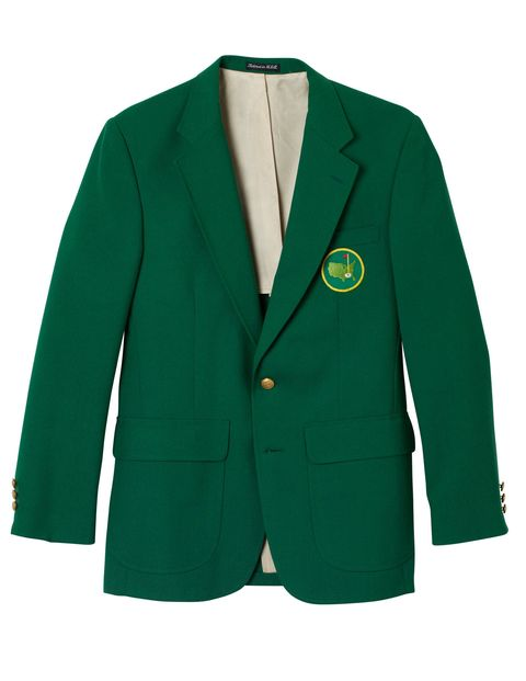 The Green Jacket worn by members and presented to Masters champions (this one is a replica).