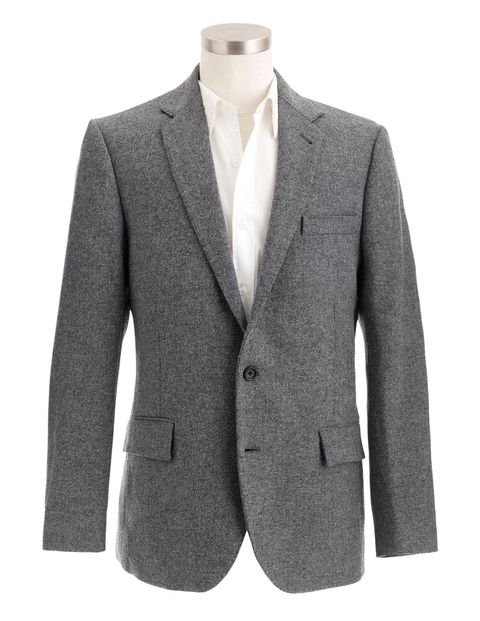 Harris Tweed is still hand-loomed but is now available in lighter weights; a jacket by J.Crew ($298), jcrew.com.