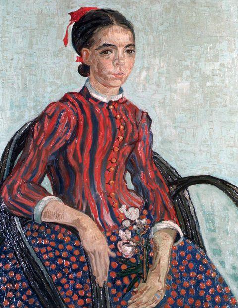 La Mousmé, by Vincent van Gogh.