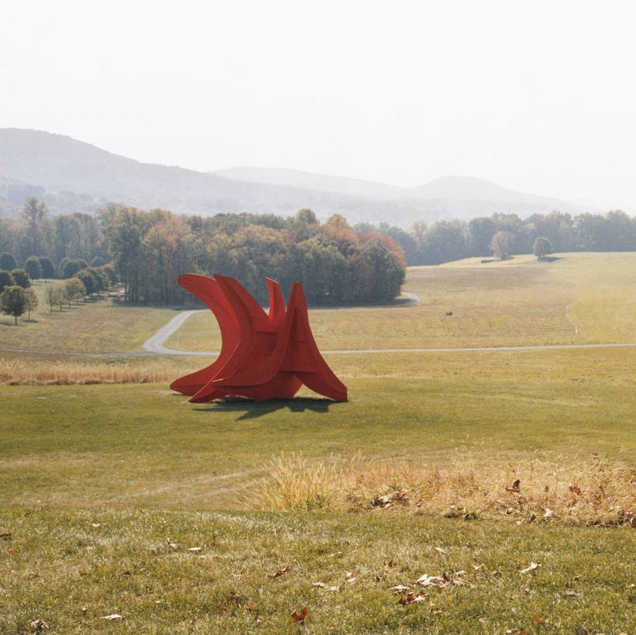 Alexander Calder's Five Swords, at the Storm King Art Center, in Mountainville.