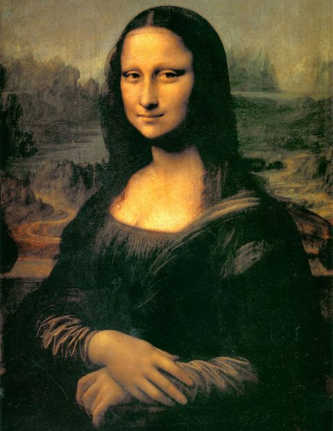 The Italian scholar Giancarlo Gianazza believes the profile of Dante Alighieri may be discerned upon close analysis of Leonardo da Vinci's brushwork in the Mona Lisa.