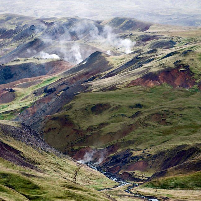 The valleys of Iceland, which Gianazza believes are full of long-kept secrets.