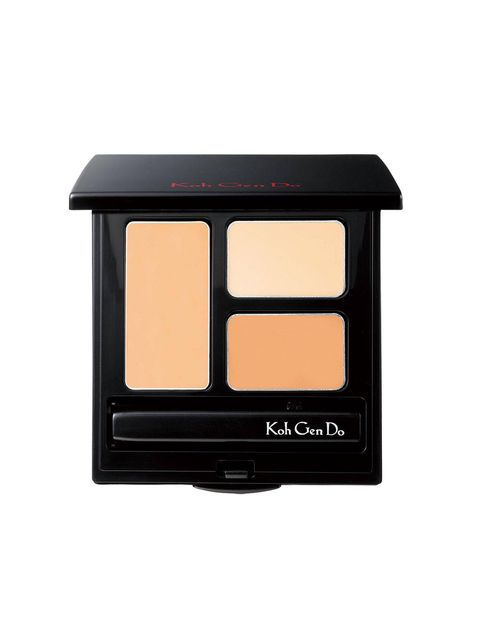 Three shades come in the compact for easy correcting and the buttery formula is undetectable and long-lasting. Best for the makeup obsessed, who take their camouflaging very seriously. $54, http://www.barneys.com/Koh-Gen-Do-Moisture-Concealer-For-Professional/00505012329922,default,pd.html