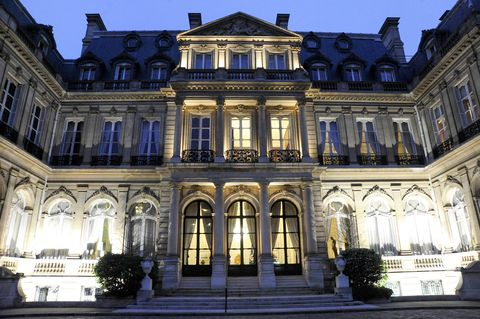 The residence of the U.S. Ambassador to France, in the 8th arrondissement.