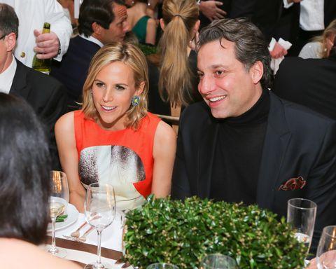 Tory Burch and Thom Filicia.