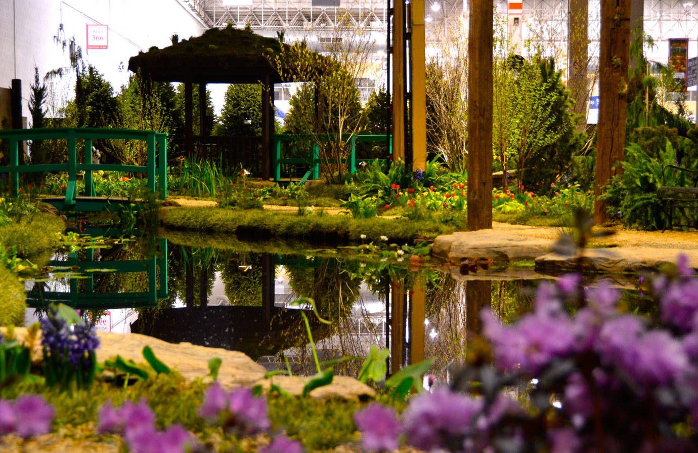 Interior-New York Botanical Garden Orchid Show