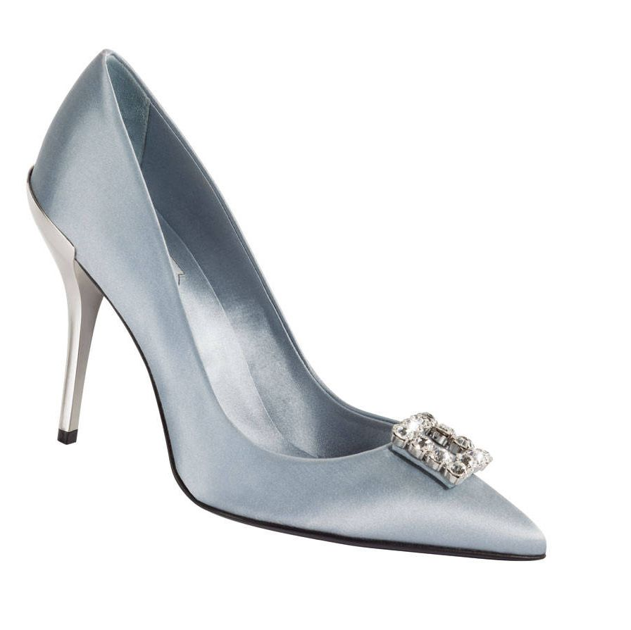 Go vegan with these Roger Vivier satin pumps. Eco-istas like Livia Firth (Colin's wife) and Natalie Portman are huge fans.rogervivier.com