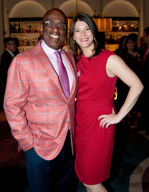 Masters of Ceremony Al Roker and Gail Simmons.