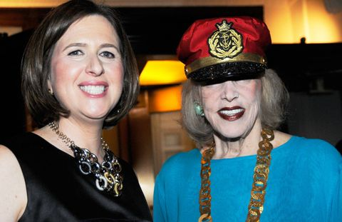 Citymeals-on-Wheels Executive Director Beth Shapiro and Co-Founder Gael Greene.