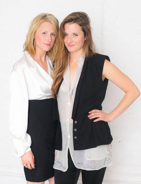 Sisters Mamie and Grace Gummer.