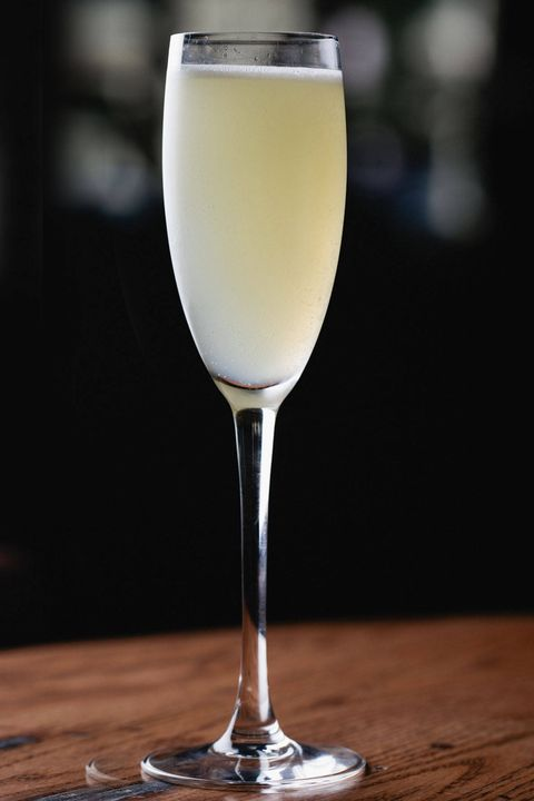 this perfect summer champagne cocktail, the parasol, comes from the paris club in chicago here's the recipe5 oz lillet blanc5 oz st germain5 oz honey syrup equal parts honey and water combined75 oz lemon juice3 oz champagneadd ice to shaker and shake for 10 seconds strain into a champagne flute top with champagne