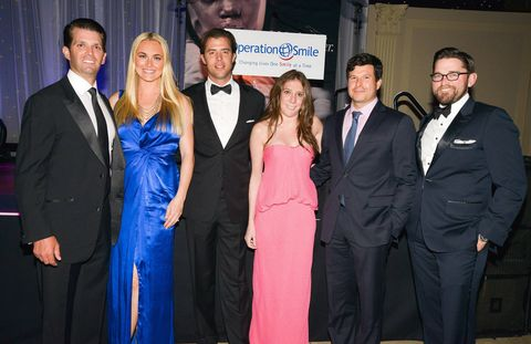 Founding Chairs: Donald and Vanessa Trump, Kevin Glaser, Lacey Tisch, Alex Hurst and Christian Simonds.