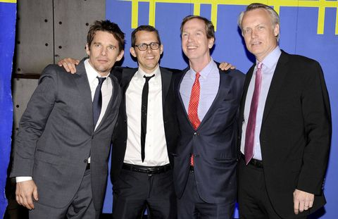 Ethan Hawke, Robert Hammond, John Blondel, and Fred Eliasson.