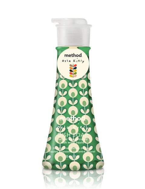 "We should all thank the eco-friendly brand Method: they came up with the idea of recycling the plastics in the ocean to create their packaging. With help from fashion designer Orla Kiely, they've just unveiled some new scents for their products—including hand wash, dish soap, and all-purpose cleaner—all decorated in Kiely's fun prints. We're neat freaks anyway, but we're especially freaky about the smell of the honeysuckle and tomato vines. <i>From $2.99, <a href=""http://www.methodhome.com"" target=""_blank"">methodhome.com</a>.</i>"