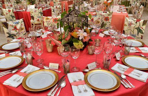 Table atmosphere.