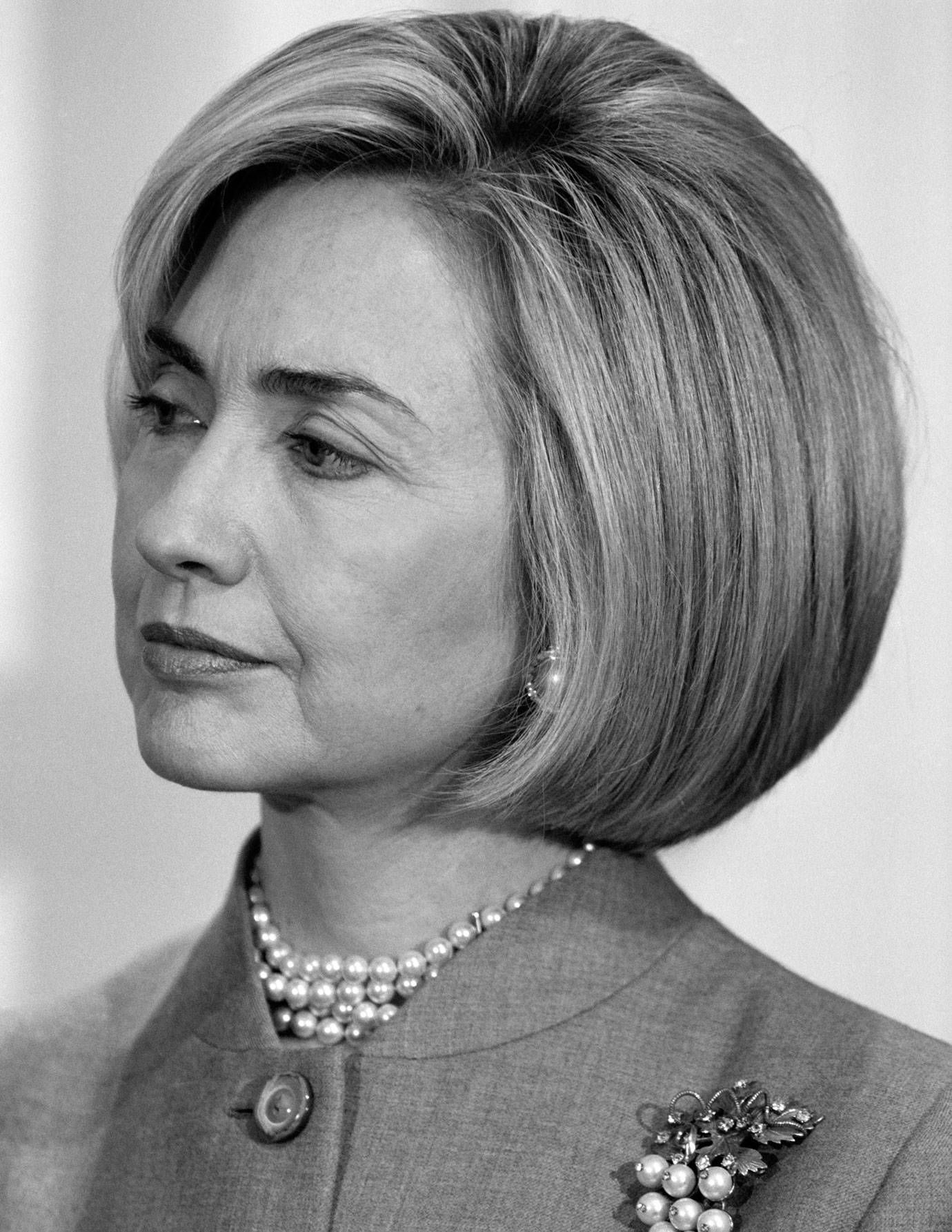 Hillary Clinton S Hair Evolution Best Hillary Clinton